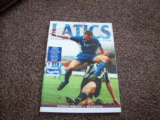 Oldham Athletic v Blackpool, 1998/99